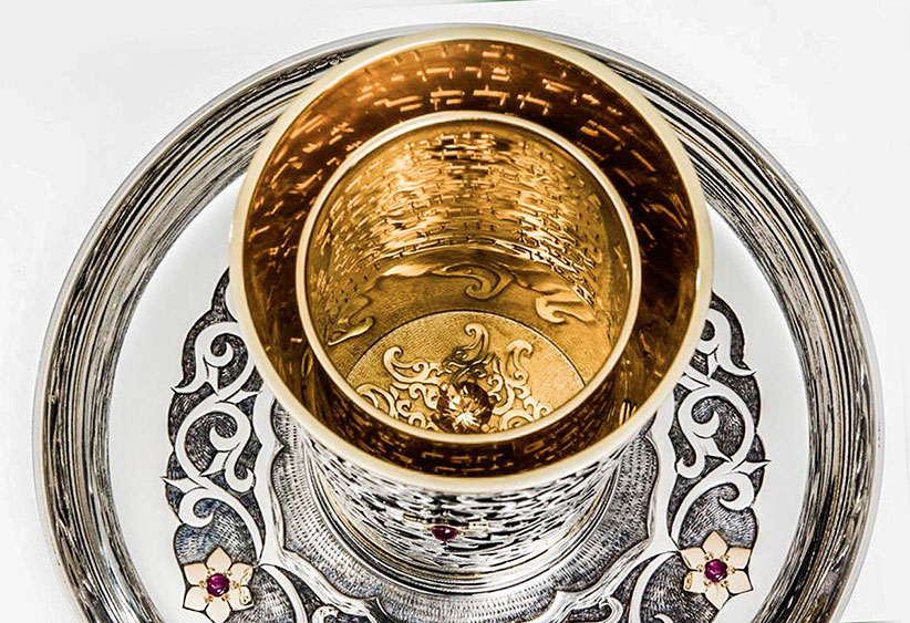 The Rivers Kiddush Cup