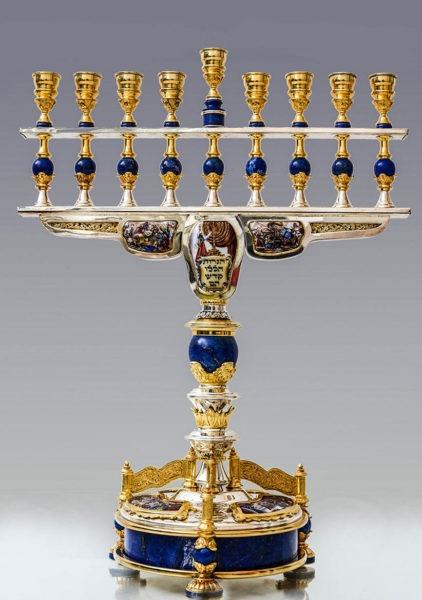 Majestic Chanukkiah